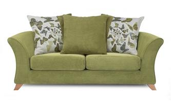 2 Seater Pillow Back Sofa
