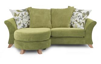 3 Seater Pillow Back Lounger Sofa Escape