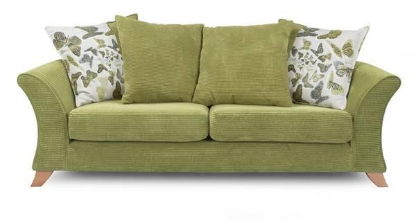Escape 3 Seater Pillow Back Sofa