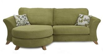 Escape 4 Seater Formal Back Lounger Sofa