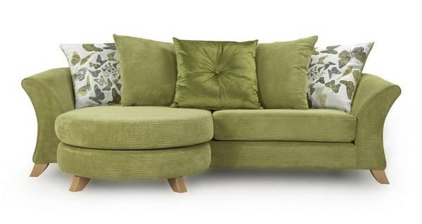 Escape 4 Seater Pillow Back Lounger Sofa