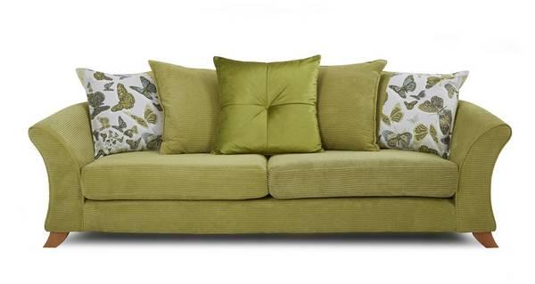 Escape 4 Seater Pillow Back Sofa