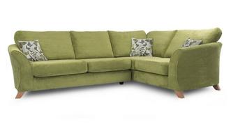 Escape Left Hand Facing 2 Piece Formal Back Corner Sofa
