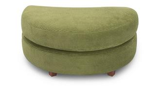 Escape Half Moon Footstool