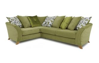 Right Hand Facing 2 Piece Pillow Back Corner Sofa Escape