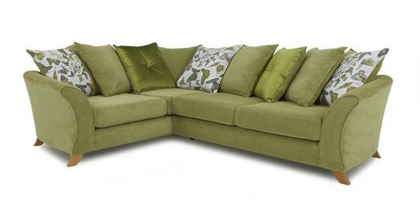 Escape Right Hand Facing 2 Piece Pillow Back Corner Sofa