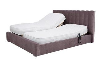 Super Kingsize (6 ft) Adjustable Bed & Latex Mattress