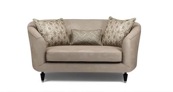 Etienne Plain Cuddler Sofa