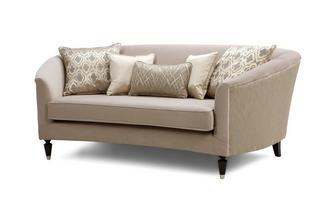Pattern and Plain Medium Sofa Etienne