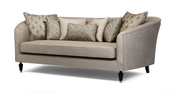 Etienne Plain Large Sofa