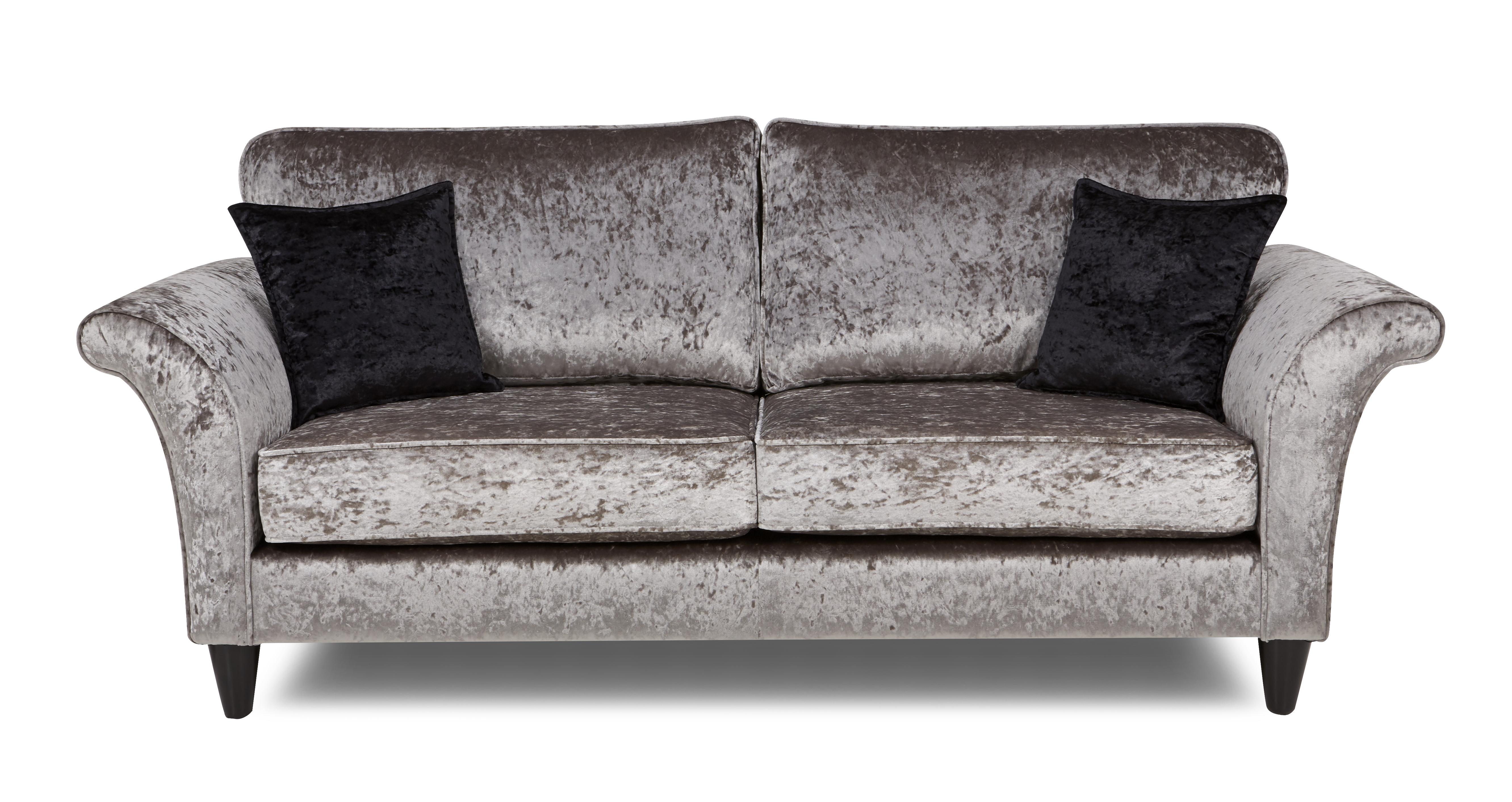 Etoile 3 Seater Formal Back Sofa Krystal