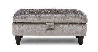 Etoile Large Storage Footstool