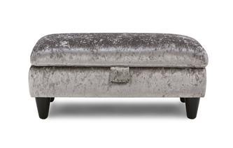 Large Storage Footstool Krystal
