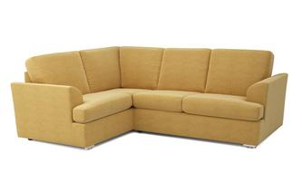 Etta Right Hand Facing 2 Seater Corner Sofa Plaza