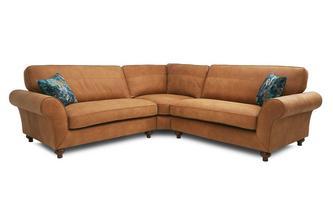 Leather 3 Piece Corner Sofa