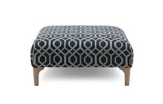 Pattern Footstool