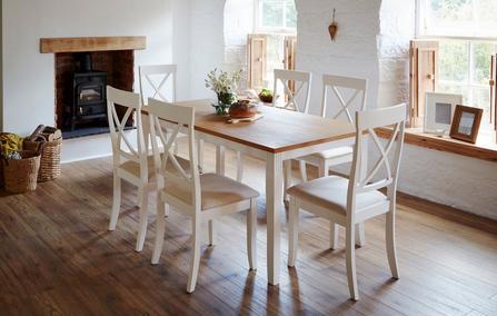 Evesham Rectangular Dining Table 4 Chairs