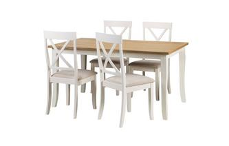 Extending Table & 4 Chairs Evesham