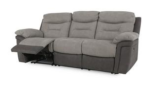Evolution Fabric 3 Seater Electric Recliner