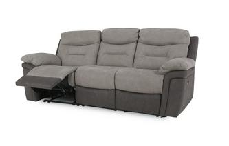 Fabric 3 Seater Electric Recliner Arizona