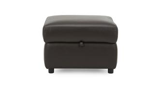 Evolution Leather and Leather Look Storage Footstool