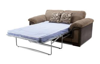 Large 2 Seater Formal Back Deluxe Sofa Bed