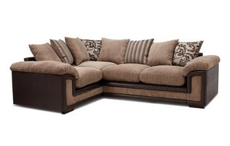 Right Hand Facing Pillow Back Corner Deluxe Sofa Bed