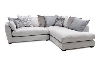 Phenomenal Explorer Pillow Back Left Hand Facing Arm Small Corner Sofa Home Interior And Landscaping Pimpapssignezvosmurscom