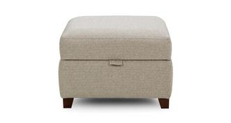 Ezra Plain Storage Footstool