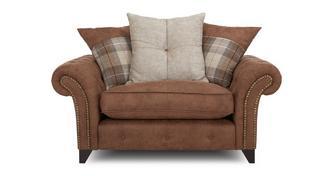 Fairfield Pillow Back Cuddler Sofa