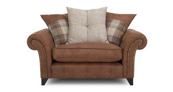 Fairfield Pillow Back Cuddler Sofa