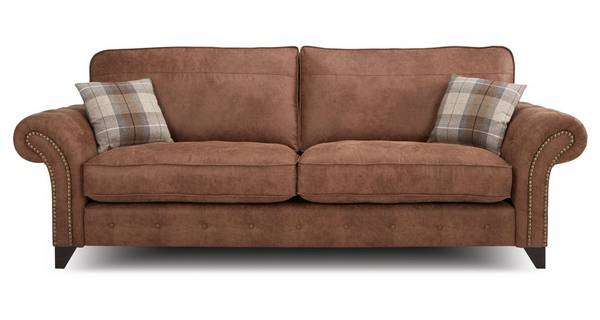Fairfield 4 Seater Formal Back Sofa