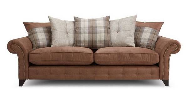 Fairfield 4 Seater Pillow Back Sofa