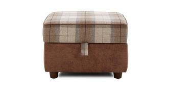 Fairfield Check Top Storage Footstool