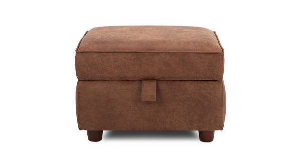 Fairfield Plain Storage Footstool