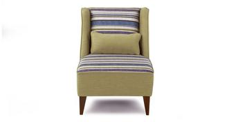 Fairhaven Patterned/Plain Accent Chair