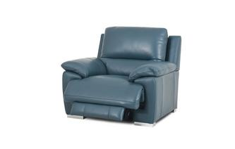Handbediende recliner stoel New Club