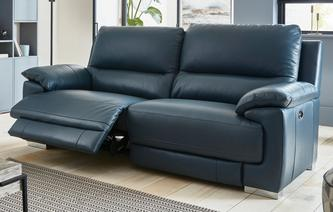 Falcon 3 Seater Power Recliner New Club