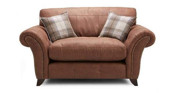 Fallon Formal Back Cuddler Sofa