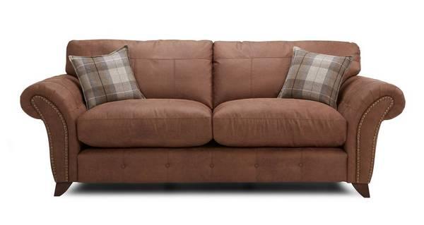 Fallon 3 Seater Formal Back Sofa