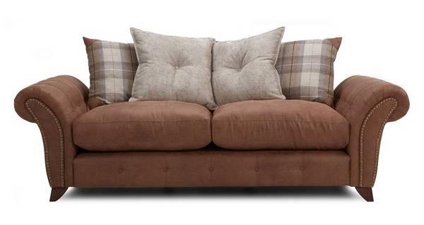 Fallon 3 Seater Pillow Back Sofa