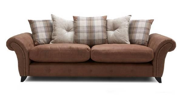 Fallon 4 Seater Pillow Back Sofa