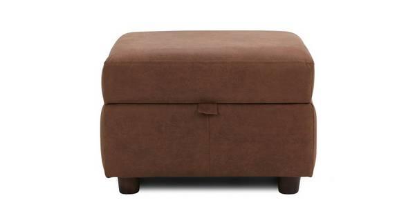 Fallon Plain Storage Footstool