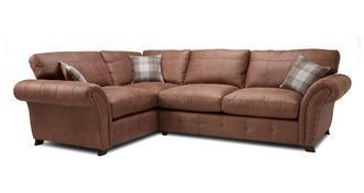 Fallon Right Hand Facing 3 Seater Formal Back Corner Sofa