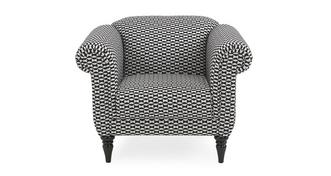 Fame Pattern Armchair