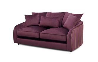Gold Piped 2 Seater Sofa