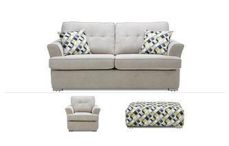 3 Seater, Chair & Banquette Stool