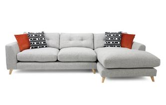 Weave Right Hand Facing Grand Chaise Sofa