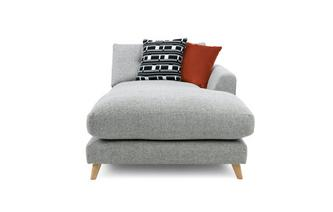 Weave Right Hand Facing Arm Chaise Unit