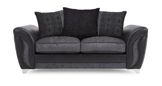 Farrow 2 Seater Pillow Back Sofa Bed